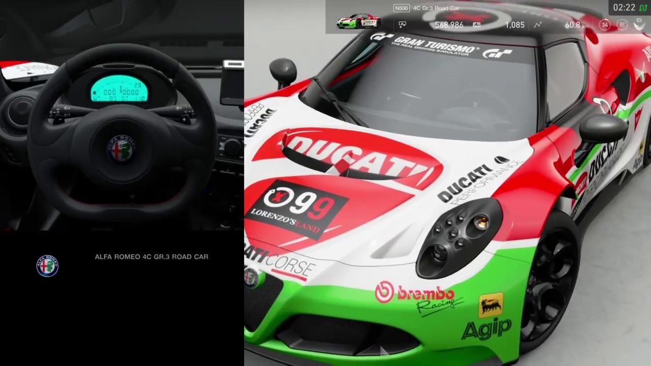 Gran Turismo Sport Gr 3 Ducati Jorge Lorenzo Racing Car Youtube