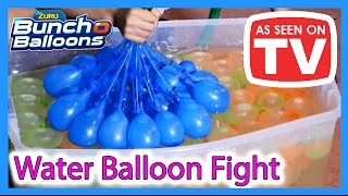 as seen on tv bunch o balloons   water balloon fight challenge