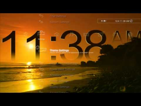 Clock: Long Beach Digital Dynamic Theme