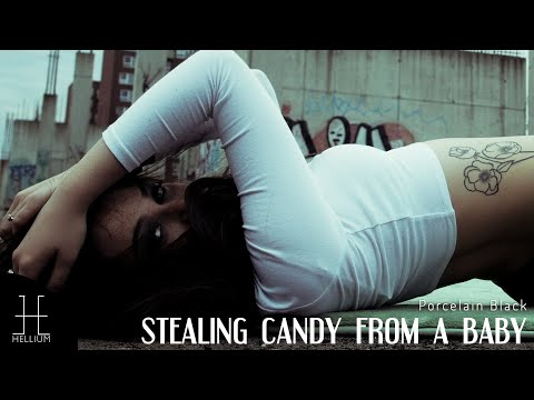 PORCELAIN BLACK - STEALING CANDY FROM A BABY (music video)