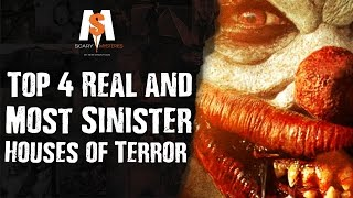 Top 4 REAL & Most SINISTER Houses of TERROR