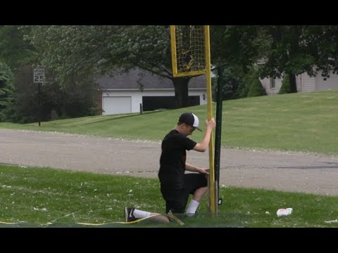 Setting Up Cultz Field | MLW Wiffle Ball