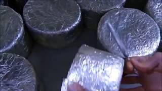 Le fasi principali della produzione del Roquefort Le Vieux Berger