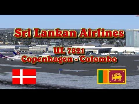 FSX Sri Lankan Airlines (CPH - CMB)