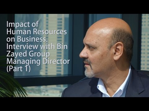 Amro Bullock interviews Bin Zayed Group Managing Director Midhat Kidwai part 1