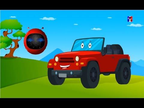 Zobic Jeep | Formation et utilisations | Vidéo pour enfants | Vehicle For Kids | Formation And Uses