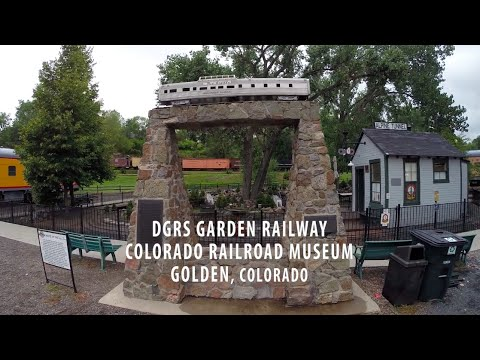 DGRS Garden Railroad - Colorado Railroad Museum - Golden, CO