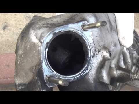 Intake Manifold cleaning part1
