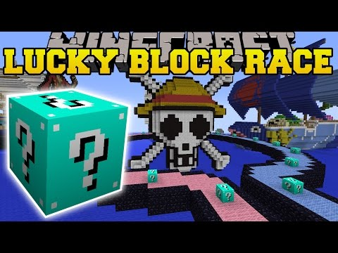 Pat and jen minecraft extreme red lucky block race lucky - Pat and jen lucky block challenge games ...