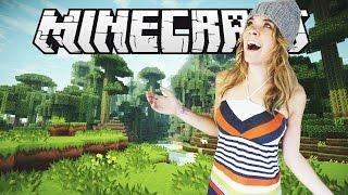 MI PRIMER DÍA EN MINECRAFT!! | Minecraft (1) - lele