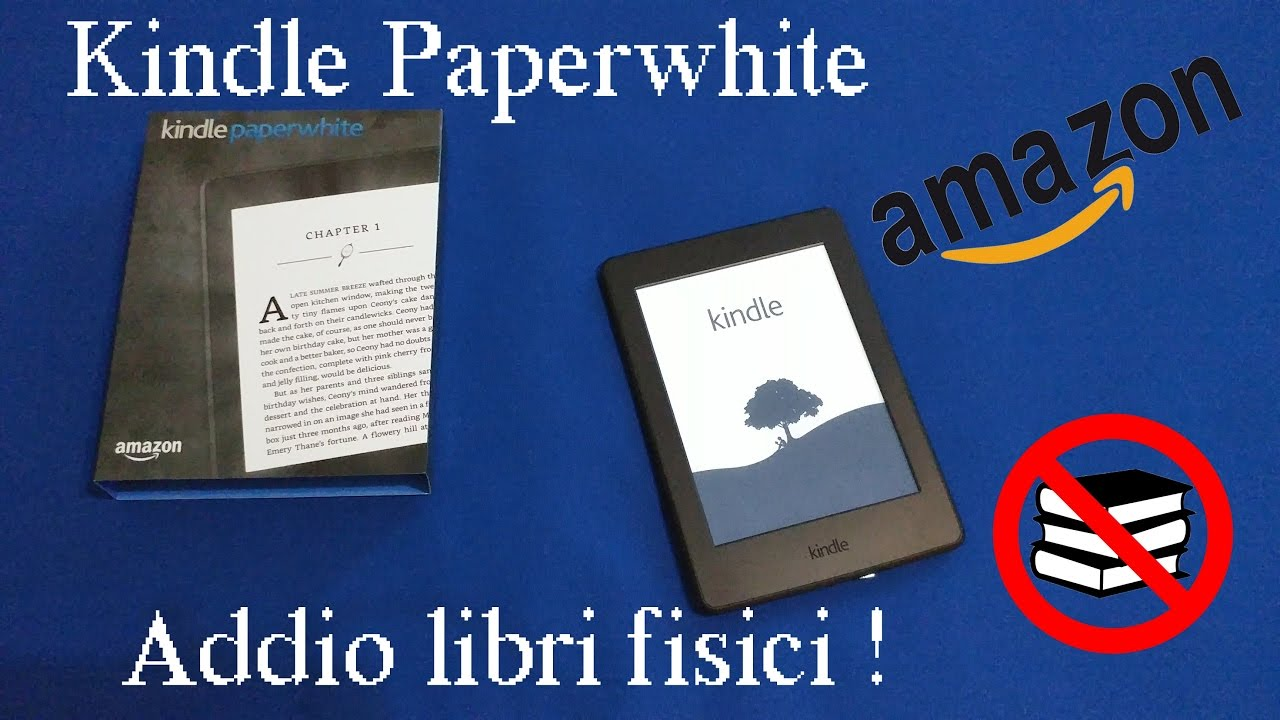 9cf45a79469e58 Amazon Kindle Paperwhite 8° gen - Addio libri fisici (recensione ...