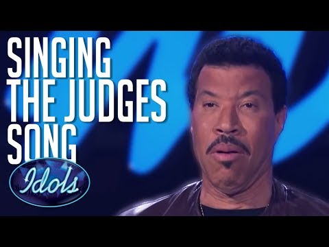 Contestant Sings Lionel Richie Song INFRONT Of Him! | Idols Global