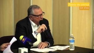 Rueda de prensa 1er Informe Regidor 19 2013-2016