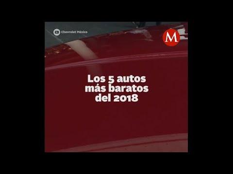Estos Son Los 5 Autos Mas Baratos Del 2018 Youtube