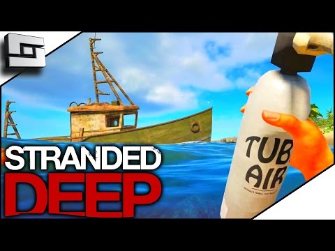 Stranded  Deep Gameplay - ALL THE SHIPWRECKS! S3E3