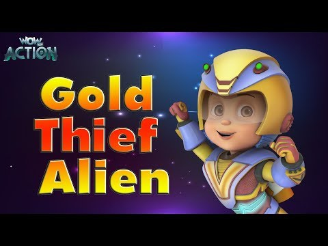 Vir: The Robot Boy | Hindi Cartoons for kids | Gold Thief Alien | WowKidz Action
