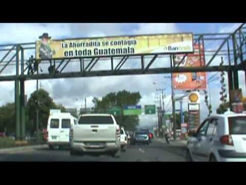 Ruta de San Lucas Sacatepéquez a Ciudad de Guatemala.