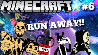 Download Bendy Goes to Space in Minecraft! - BendyPlayz Minecraft PE [6] Mp3 and Videos