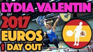 Lydia Valentin (75kg, Spain) - Full Training Session (1 Day Out)