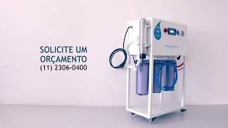 Tratamento de Água com Osmose Reversa Portátil e Lâmpada UV