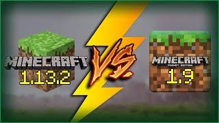 Minecraft PC 1.13.2 vs Minecraft PE 1.9