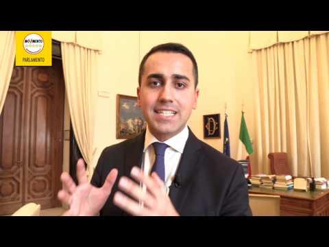 Luigi Di Maio - Lettera al Presidente dell'Ordine nazionale dei Giornalisti