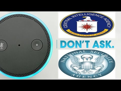 The Amazon Echo Is Spying On You, Shuts Down When Asked About CIA, NSA