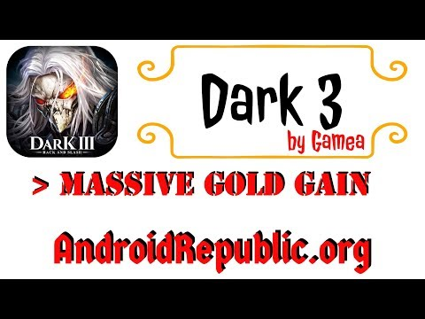 Dark 3 by Gamea 3D Open World | GOLD HACK | ANDROID HACK