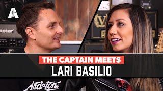 The Captain Meets Lari Basilio