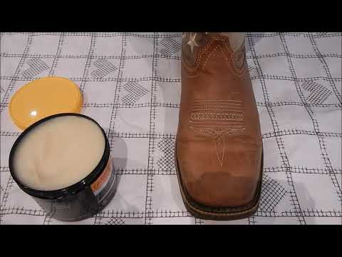 Cleaning and conditioning, Durango boots