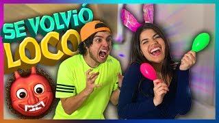 24 HORAS IGNORANDO A MI EX NOVIO *se volvió loco* | Yolo Aventuras