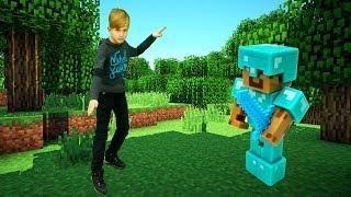 Секреты игры Майнкрафт - Играем на Арене SkyWars от Minecraft