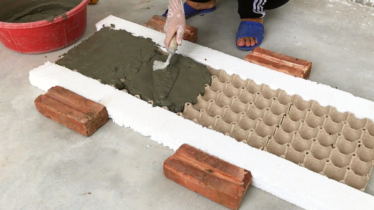 Creative Ideas Between Cement And Egg Tray | Amazing Succulents Garden Decor Ideas