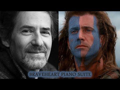 BRAVEHEART PIANO SUITE - JAMES HORNER TRIBUTE (1953 - 2015)
