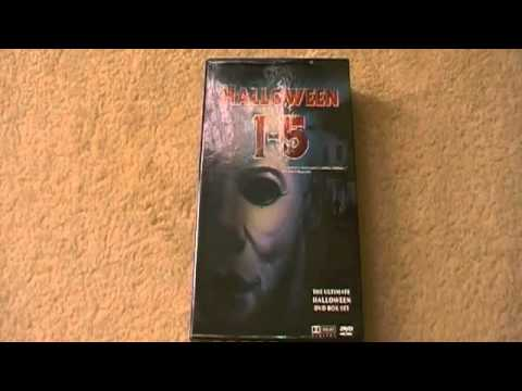 Halloween Dvd Box Set.Halloween 1 5 Dvd Boxset