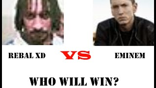 Eminem VS Rebel xd - WHOS FASTER?