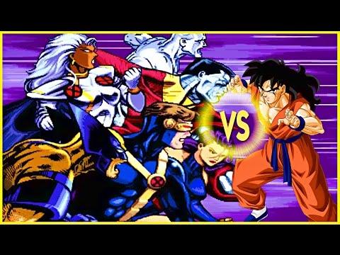 Yamcha vs the X Men Universe