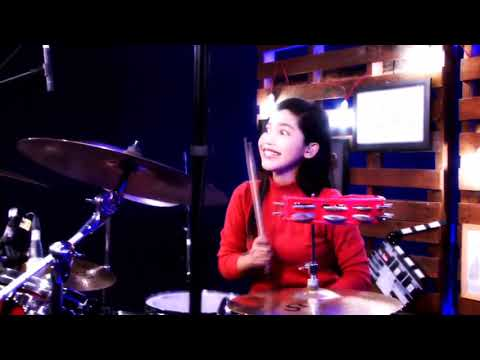 Ayo KITA Pilih JOKOWI (Remix Drum Cover) Nur Amira Syahira