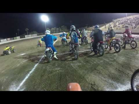 Ventura Raceway Flat Track XR100 Steve Souisa 100cc Main