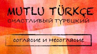 Счастливый турецкий. 7 урок. Согласие и несогласие.
