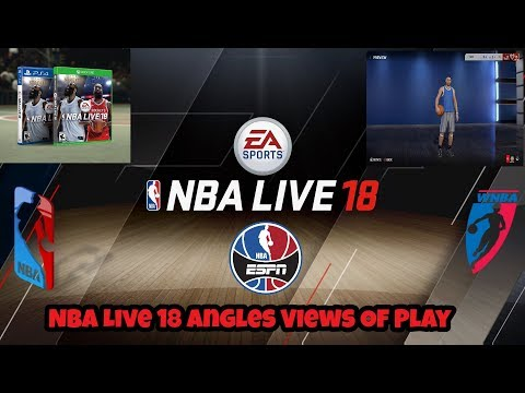 Nba Live 18 And The Multiple Camera Angles The Game Has