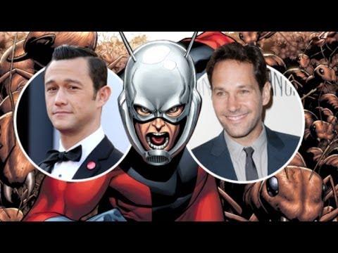 AMC Movie Talk - Joseph Gordon-Levitt or Paul Rudd As ANT-MAN? Chris Pine Joins HORRIBLE BOSSES 2