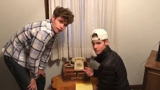 Rotary Phone Stumps Two Teenage Boys in Hilarious Bet