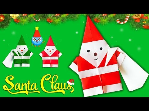 Make Paper Santa Claus for Christmas 2019🎅🏻Easy DIY Paper Crafts [4K]