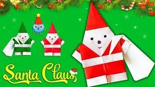 Make Paper Santa Claus for Christmas 2018🎅🏻Easy DIY Paper Crafts [4K]