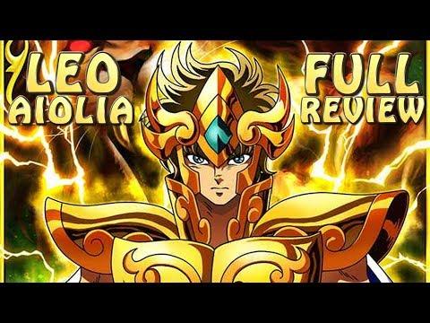 leo-aiolia!!-full-review!!-teams---cosmo---skills!!-saint-seiya-awakening