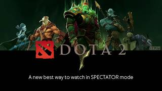 Dota 2 spectating with the 3dRudder