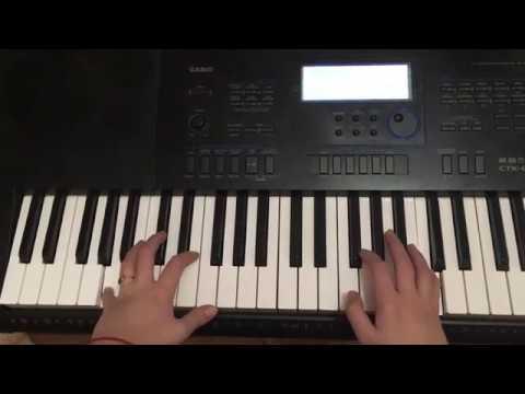 """Учимся играть на пианино легко! Разбор пьесы Бетховена """"К Элизе"""""""