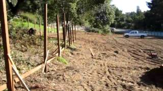 Aptos Community Garden Fence Installation