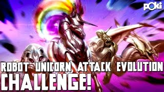 Uni-Panda-Corns! Robot Unicorn Attack Evolution Poki Challenge